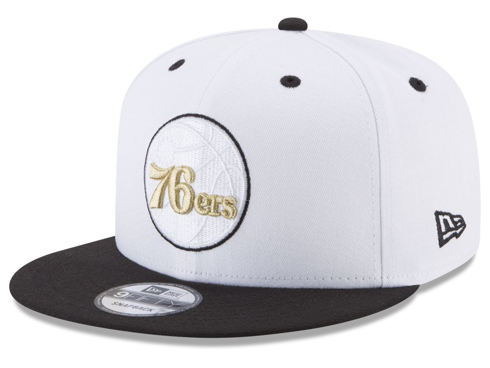 Philadelphia 76ers New Era NBA Double Twist 9FIFTY Snapback Cap ... 91cfd1594b70
