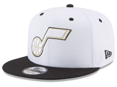 Utah Jazz New Era NBA Double Twist 9FIFTY Snapback Cap