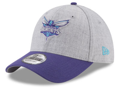 Charlotte Hornets New Era NBA Heather Hoop 39THIRTY Cap