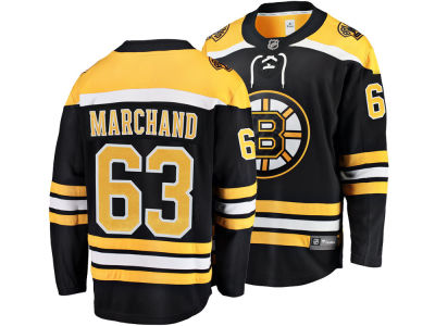 Boston Bruins Brad Marchand NHL Branded NHL Men's Breakaway Player Jersey