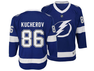 Tampa Bay Lightning Nikita Kucherov NHL Men's Breakaway Player Jersey