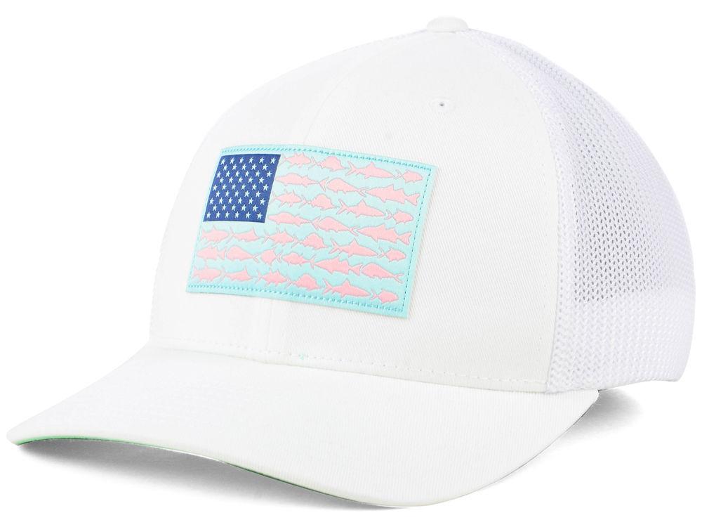 5d2a58585ef Columbia PFG Mesh Flag Hat