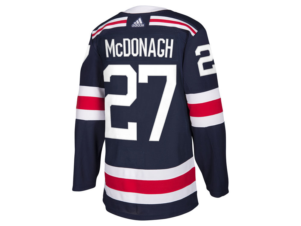 New York Rangers Ryan McDonagh adidas 2018 NHL Men s Winter Classic  Authentic Player Jersey  616aec7e5a9