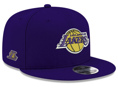 Los Angeles Lakers New Era NBA Basic Link 9FIFTY Snapback Cap