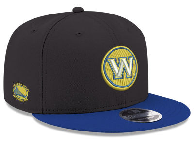 Golden State Warriors New Era NBA Basic Link 9FIFTY Snapback Cap