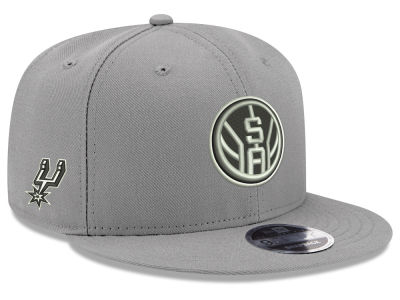 San Antonio Spurs New Era NBA Basic Link 9FIFTY Snapback Cap