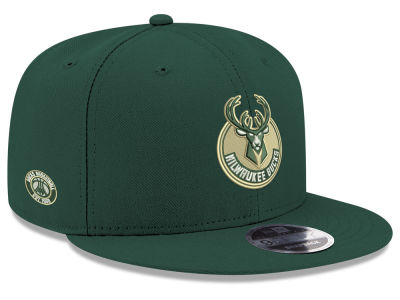 Milwaukee Bucks New Era NBA Basic Link 9FIFTY Snapback Cap