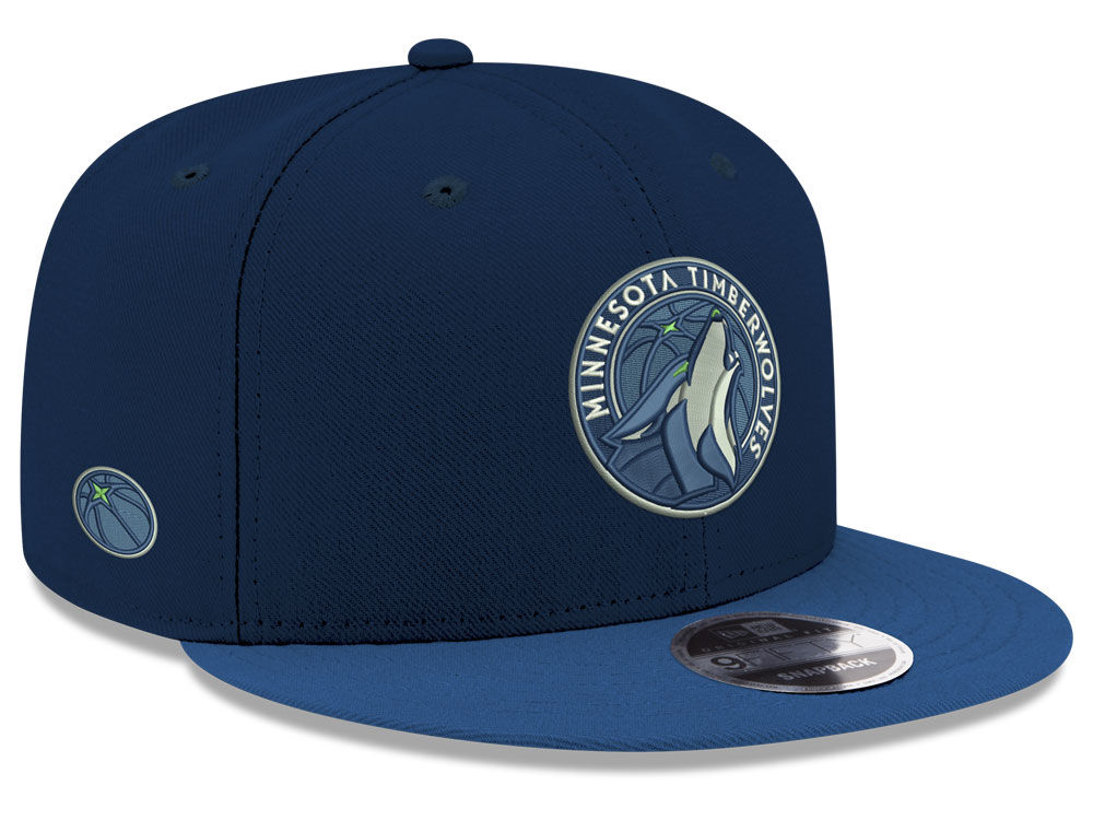 detailed look e48fc 0c7f4 ... cheapest minnesota timberwolves new era nba basic link 9fifty snapback  cap 6255c c12a7