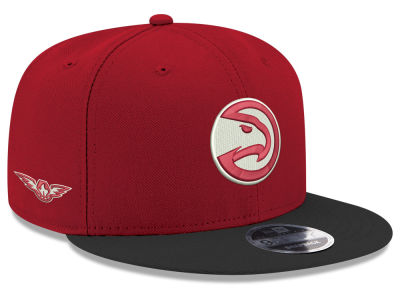Atlanta Hawks New Era NBA Basic Link 9FIFTY Snapback Cap