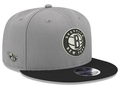 Brooklyn Nets New Era NBA Basic Link 9FIFTY Snapback Cap