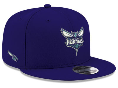 Charlotte Hornets New Era NBA Basic Link 9FIFTY Snapback Cap