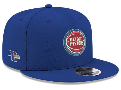 Detroit Pistons New Era NBA Basic Link 9FIFTY Snapback Cap
