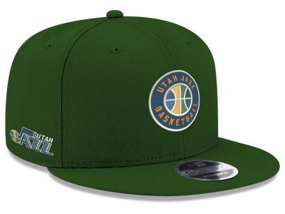 Utah Jazz New Era NBA Basic Link 9FIFTY Snapback Cap
