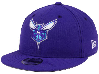 Charlotte Hornets New Era NBA Youth Basic Link 9FIFTY Snapback Cap