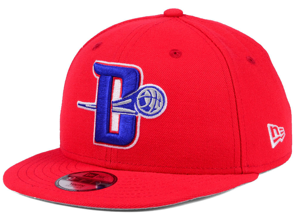 pretty nice 78dc4 c7034 france detroit pistons new era nba youth basic link 9fifty snapback cap  24574 8e321