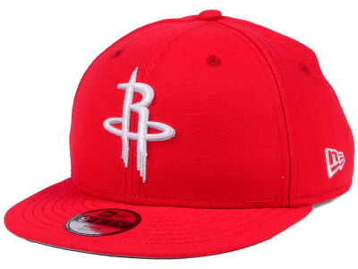 Houston Rockets New Era NBA Youth Basic Link 9FIFTY Snapback Cap