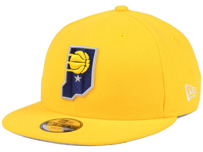 Indiana Pacers New Era NBA Youth Basic Link 9FIFTY Snapback Cap