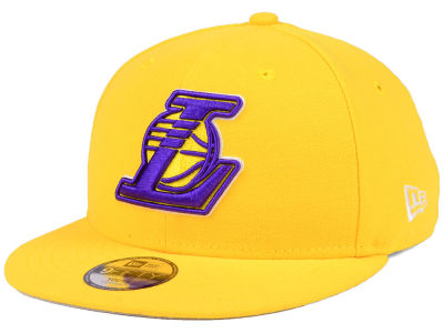 Los Angeles Lakers New Era NBA Youth Basic Link 9FIFTY Snapback Cap