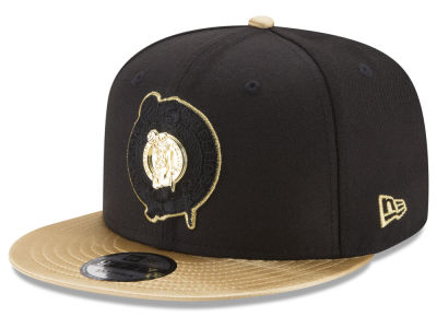 Boston Celtics New Era NBA Triple Gold 9FIFTY Snapback Cap