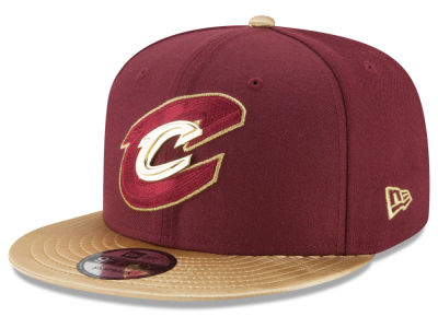 Cleveland Cavaliers New Era NBA Triple Gold 9FIFTY Snapback Cap