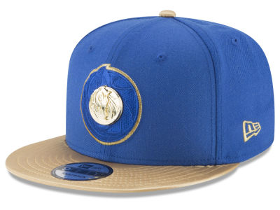 Dallas Mavericks New Era NBA Triple Gold 9FIFTY Snapback Cap