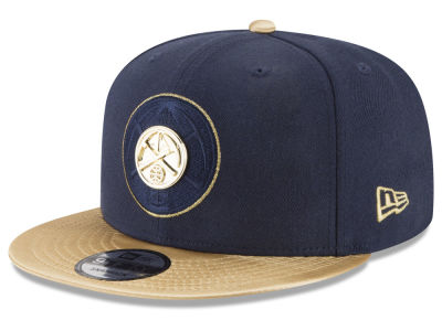 Denver Nuggets New Era NBA Triple Gold 9FIFTY Snapback Cap