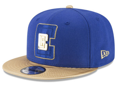 Los Angeles Clippers New Era NBA Triple Gold 9FIFTY Snapback Cap