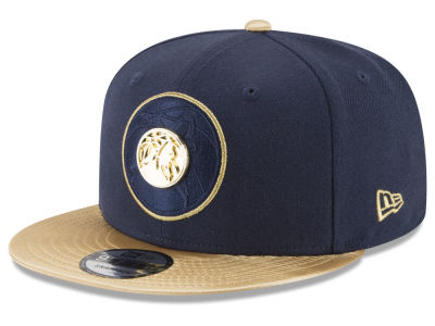 Minnesota Timberwolves New Era NBA Triple Gold 9FIFTY Snapback Cap