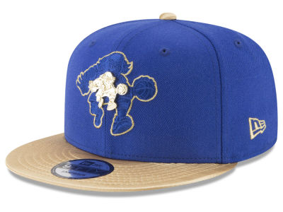 Philadelphia 76ers New Era NBA Triple Gold 9FIFTY Snapback Cap