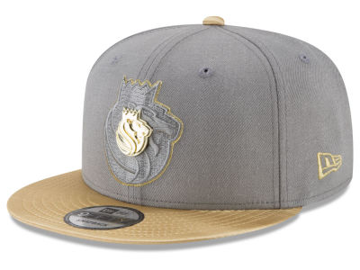 Sacramento Kings New Era NBA Triple Gold 9FIFTY Snapback Cap