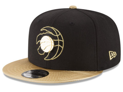 Toronto Raptors New Era NBA Triple Gold 9FIFTY Snapback Cap