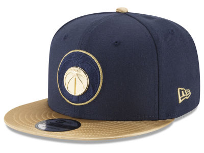 Washington Wizards New Era NBA Triple Gold 9FIFTY Snapback Cap
