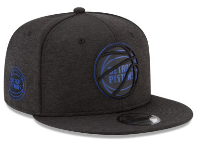 Detroit Pistons New Era NBA Ball of Reflective 9FIFTY Snapback Cap