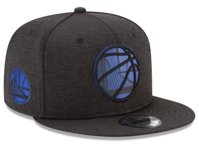 Golden State Warriors New Era NBA Ball of Reflective 9FIFTY Snapback Cap