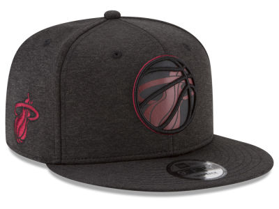 Miami Heat New Era NBA Ball of Reflective 9FIFTY Snapback Cap