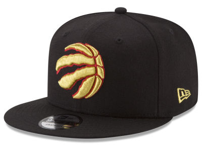 Toronto Raptors New Era NBA Gold on Team 9FIFTY Snapback Cap