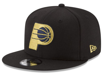 Indiana Pacers New Era NBA Gold on Team 9FIFTY Snapback Cap