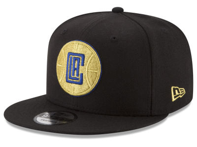 Los Angeles Clippers New Era NBA Gold on Team 9FIFTY Snapback Cap