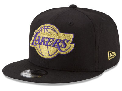 Los Angeles Lakers New Era NBA Gold on Team 9FIFTY Snapback Cap