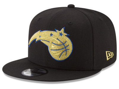 Orlando Magic New Era NBA Gold on Team 9FIFTY Snapback Cap