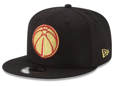 Washington Wizards New Era NBA Gold on Team 9FIFTY Snapback Cap