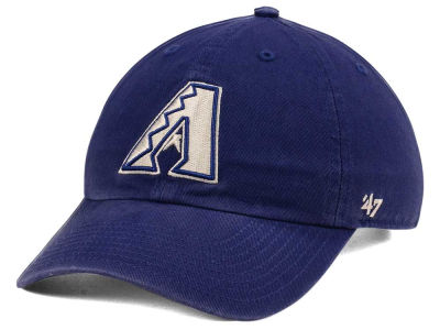 Arizona Diamondbacks '47 MLB Timber Blue CLEAN UP Cap