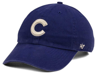 Chicago Cubs '47 MLB Timber Blue CLEAN UP Cap