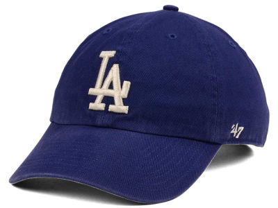Los Angeles Dodgers '47 MLB Timber Blue CLEAN UP Cap