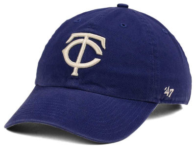 Minnesota Twins '47 MLB Timber Blue CLEAN UP Cap
