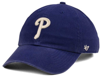 Philadelphia Phillies '47 MLB Timber Blue CLEAN UP Cap