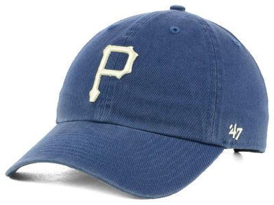 Pittsburgh Pirates '47 MLB Timber Blue CLEAN UP Cap
