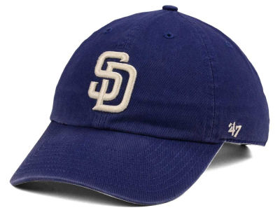 San Diego Padres '47 MLB Timber Blue CLEAN UP Cap