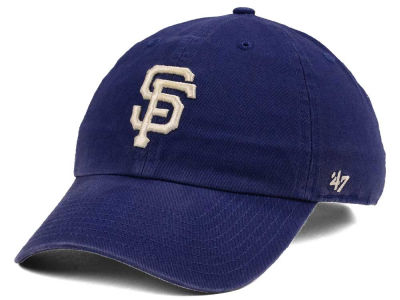San Francisco Giants '47 MLB Timber Blue CLEAN UP Cap