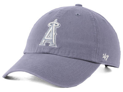 Los Angeles Angels '47 MLB Dark Gray '47 CLEAN UP Cap